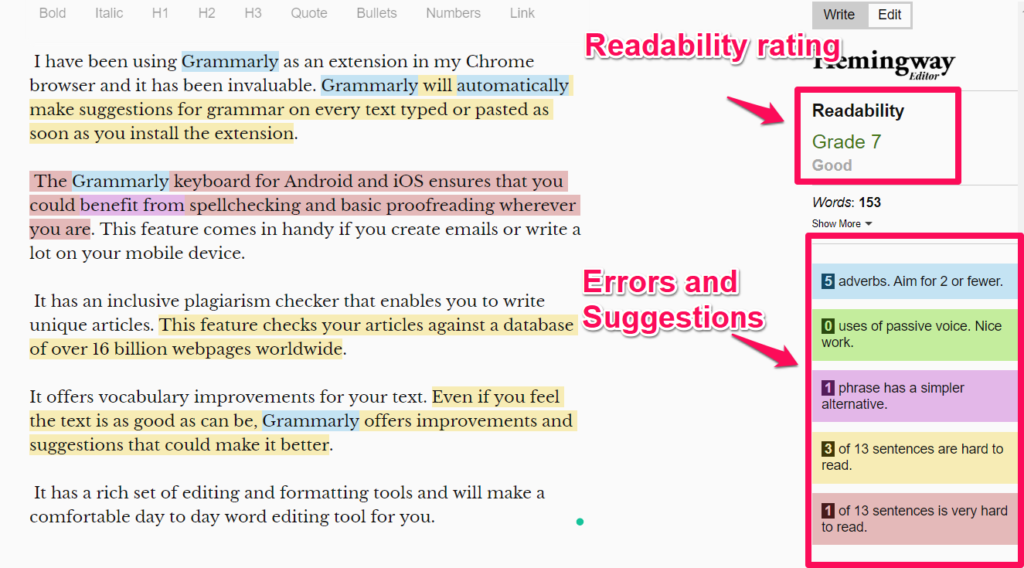 Best Grammar Checkers for Content Writers